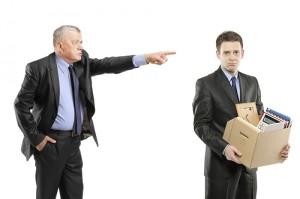 Увольнение работников компании